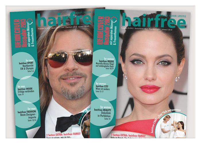 Das neue hairfree Magazin ist da!