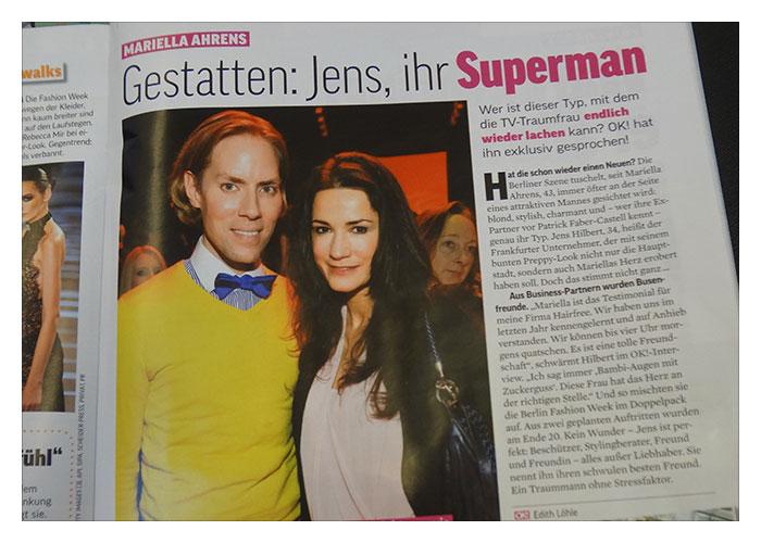 "OK! Magazin: ""Jens, ihr Superman"""