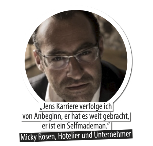 Micky Rosen und Jens Hilbert