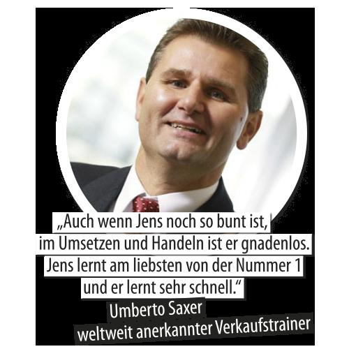 Umberto Saxer und Jens Hilbert