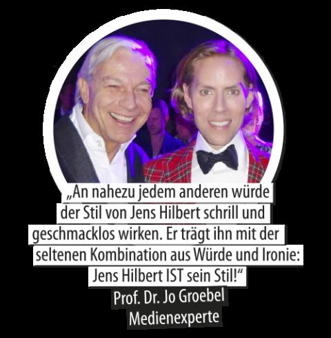 Jo Gröbel und Jens Hilbert
