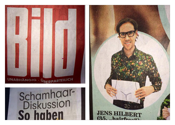 BILD National berichtet über hairfree