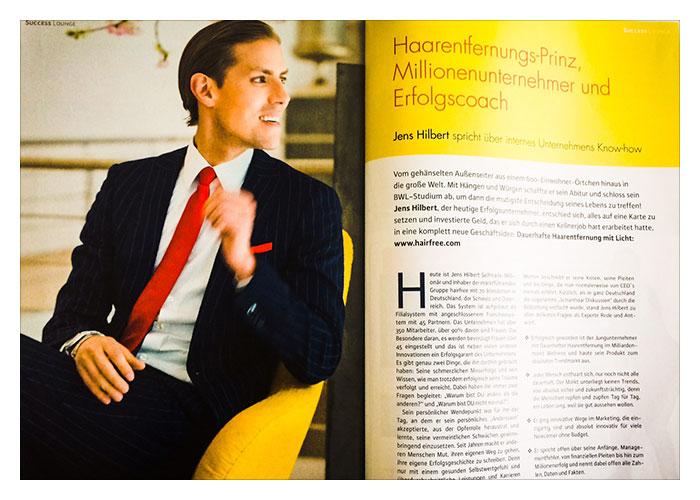 Portrait über 6 Seiten im Netcoo Magazin
