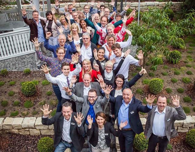 hairfree Erfolgstreffen mit den Franchisepartnern und Geschäftsführern
