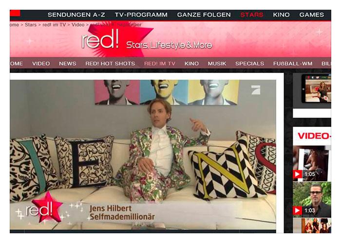 Reportage über hairfree und Jens Hilbert bei Format RED/PRO7