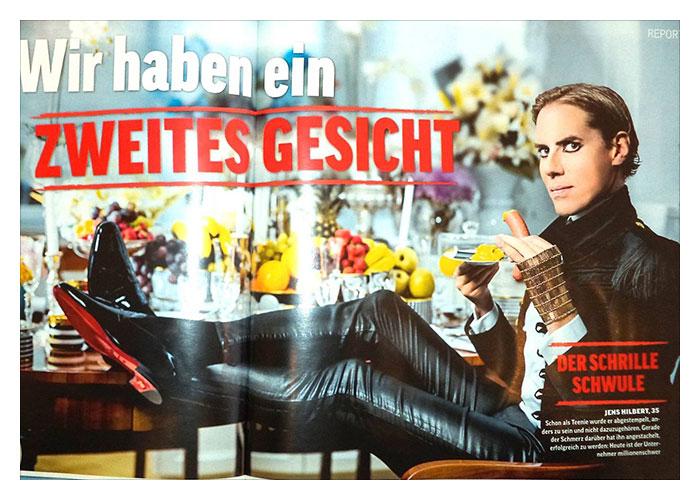 OK! Magazin: Wir haben ein 2tes Gesicht… coole Headline, tolles Interview…