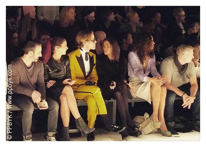 Lustige Schnappschüsse Fashionweek…