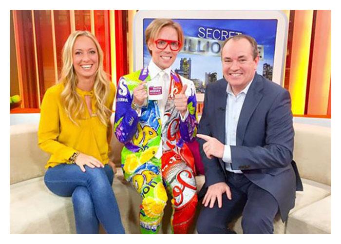 Gast beim Frühstücksfernsehen von RTL