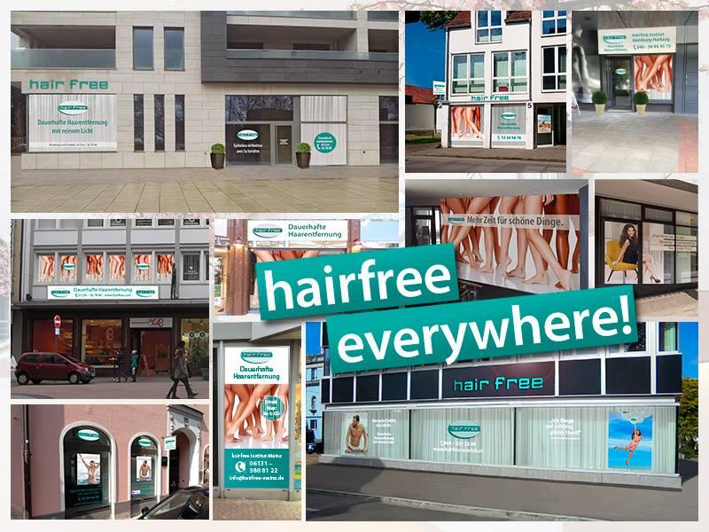 hairfree expandiert im Ausland