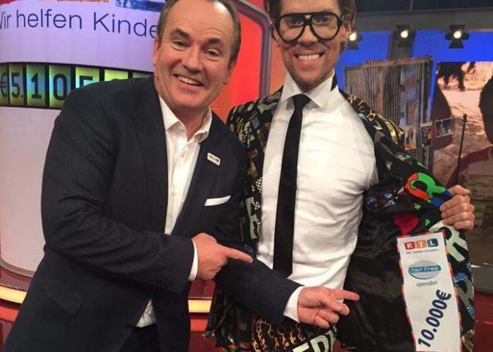 RTL Spendenmarathon mit Wolfram Kons