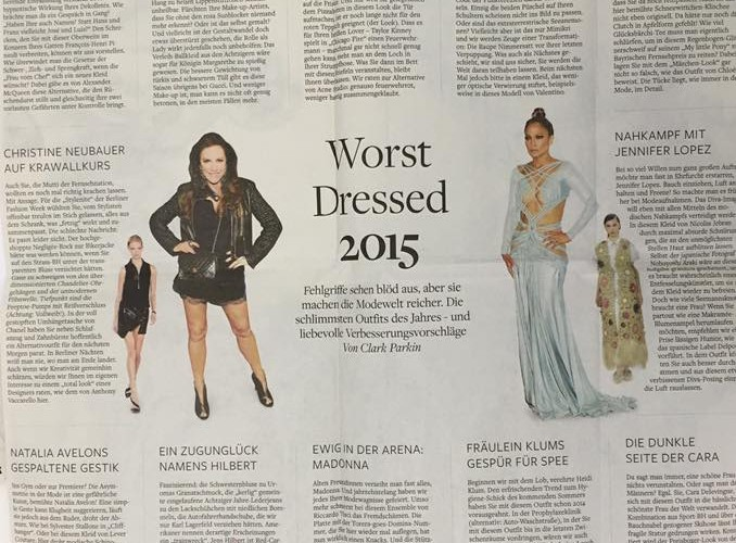 Die Welt zum Finale der Fashion Week in Berlin