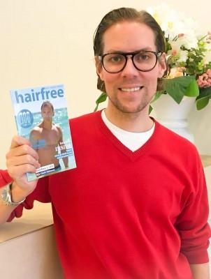 Das neue hairfree Magazin 2016