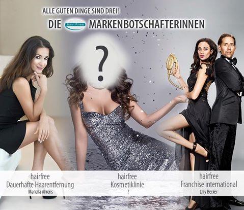Die Neue hairfree Markenbotschafterin: Alle guten Dinge sind Drei!