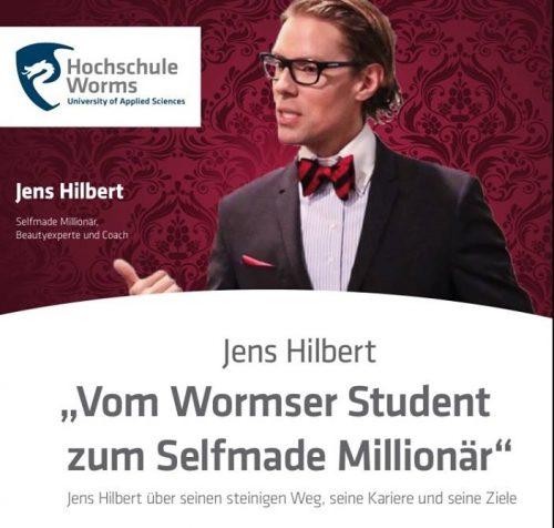 Stolz und geehrt: Eröffnungs-Referent bei der ersten Vortragsreihe der Hochschule Worms