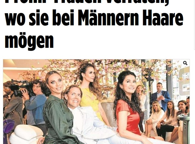 Meine neue hairfree Markenbotschafterin Sila Sahin – Online-Berichte auf bunte.de, bild.de & Co.