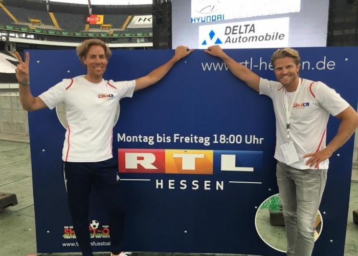 RTL Hessen sucht den Deutschen Meister im Torwandschießen