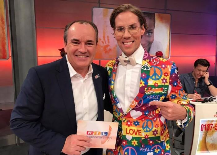 RTL Spendenmarathon 2016 mit Wolfram Kons