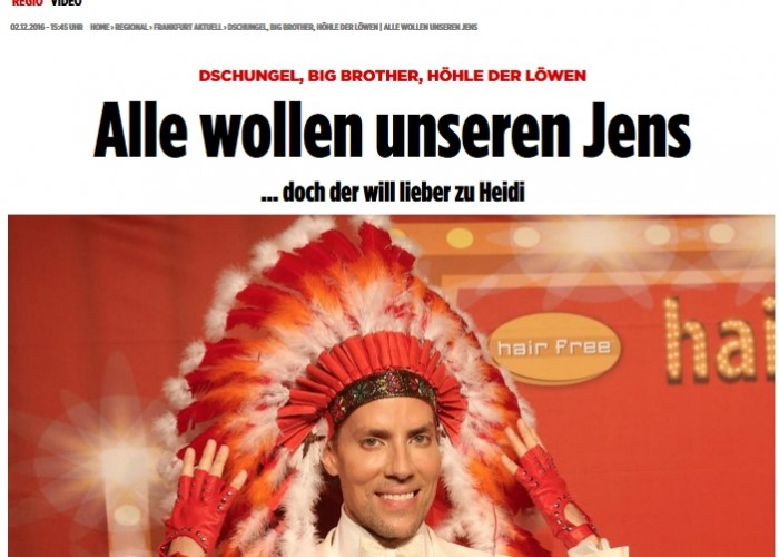 BILD dir deine Meinung: Alle wollen unseren Jens