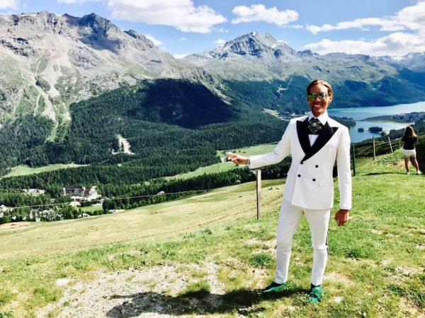 Wedding in St Moritz ❤️