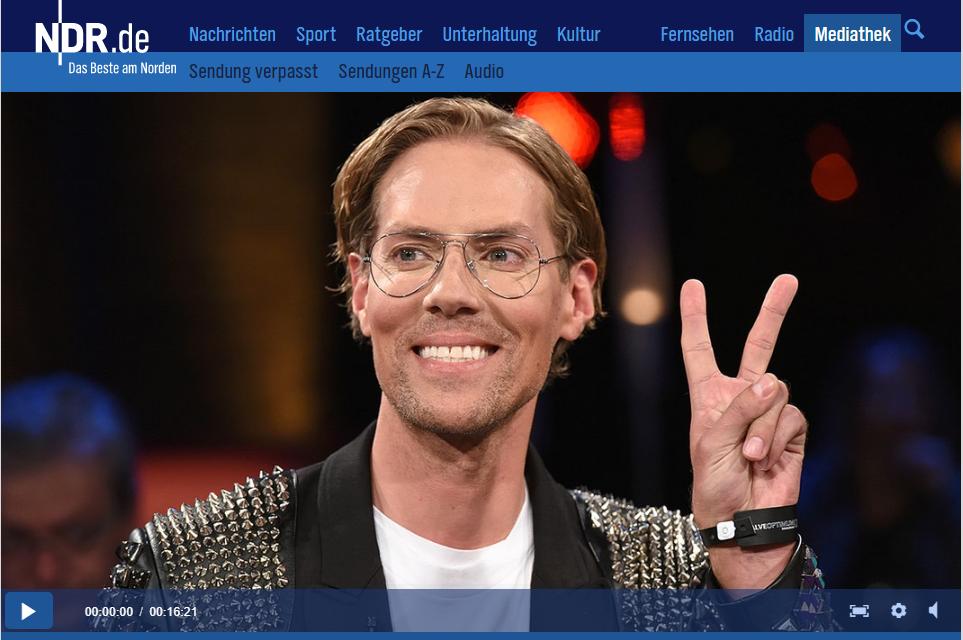 Ndr Talkshow Bei Barbara Schöneberger Jens Hilbert