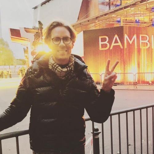 Klein Jensi auf der BAMBI Verleihung