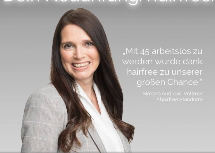 Hairfree Franchise für Quereinsteiger