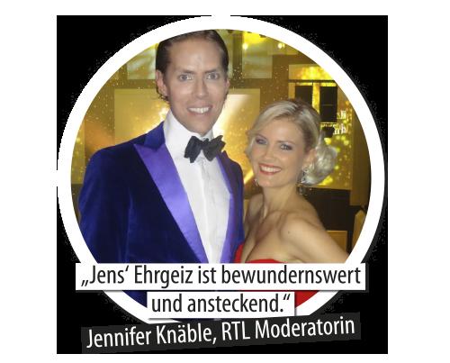 Jennifer Knäble und Jens Hilbert