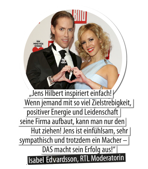 Isabel Edwardsson und Jens Hilbert