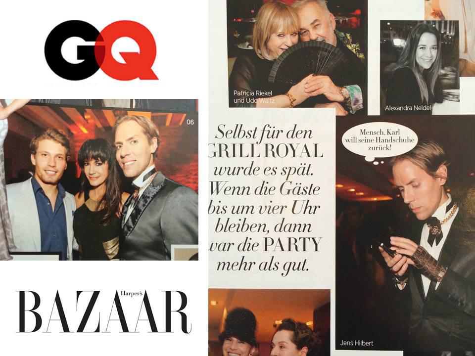 Harper's Bazar und GQ Party Berlin